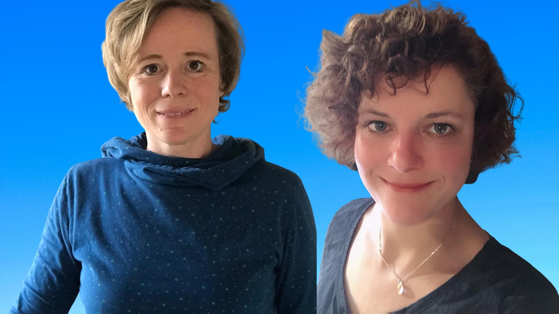 Die beiden Trainerinnen Anne und Anke
